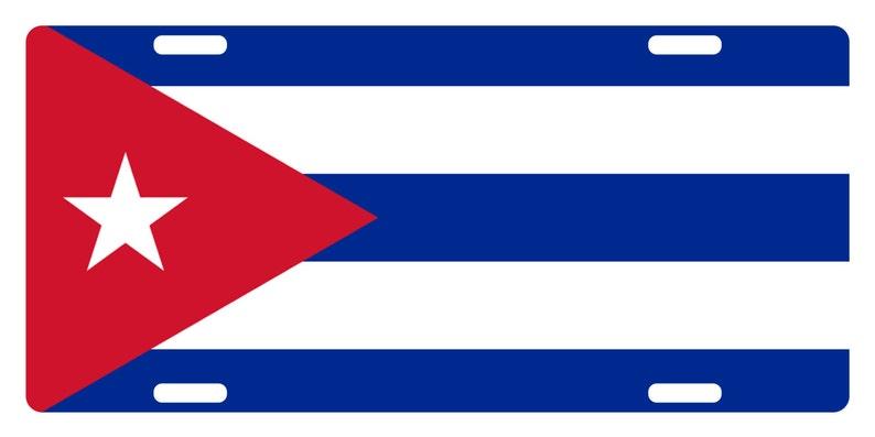 ST KITTS /& NEVIS Flag Custom License Plate NATIONAL Emblem FUZZY Version
