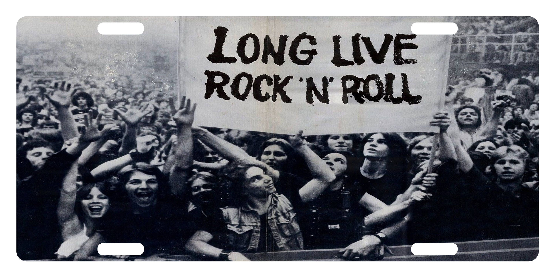 ROCK & ROLL individuelle Kfz-Kennzeichen Musik Emblem lebe | Etsy