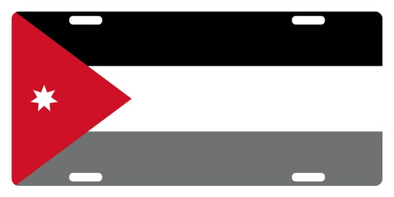 CANADA Flag Custom License Plate Canadian Emblem  Rust Version # 6