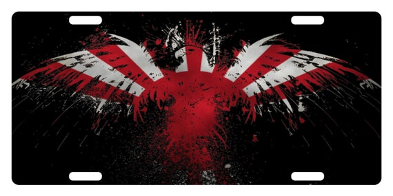 BRGiftShop Personalize Your Own License Canada Flag Country Plate Car Vehicle 6x12 Tag