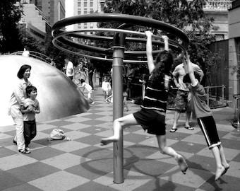 Swing: Union Square Park