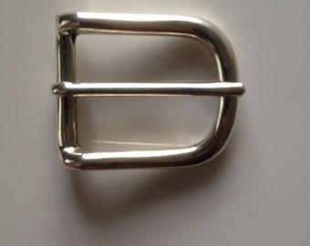 Solid Sterling Silver Belt Buckle