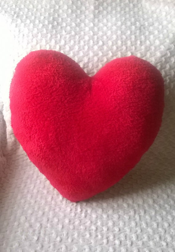 Heart shaped pillow   Etsy