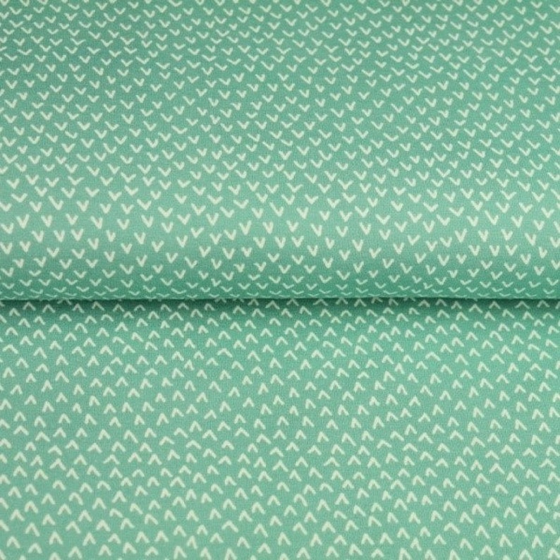 mint arrows cotton fabric Cotton mint waves fabric quilting fabric,fabric by yardhalf yard