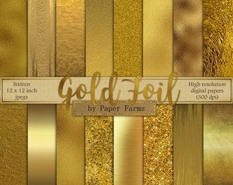 7bbf8c621741 Gold digital paper