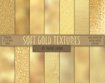 Gold digital paper, gold foil, scrapbook paper, metallic, gold glitter, digital paper, gold, textures, background, glitter, glass, antique