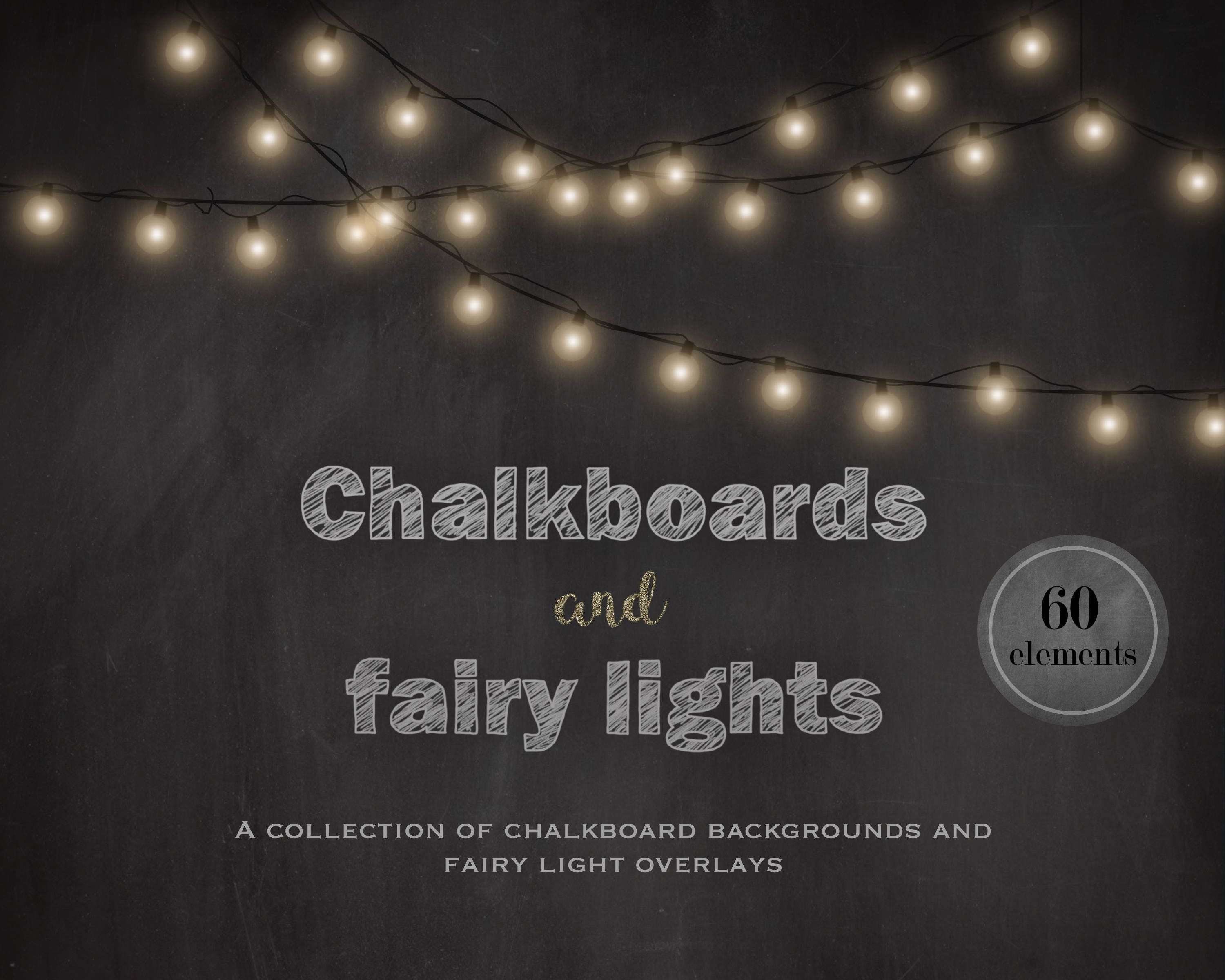 Chalkboards And Fairy Lights Chalkboard Backgrounds Fairy