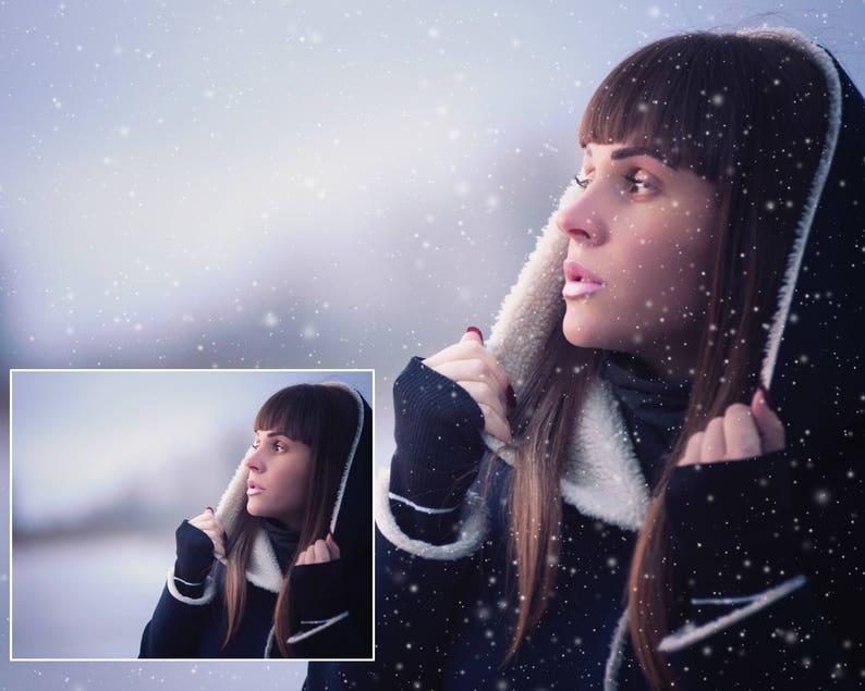transparent easy realistic Snow overlay overlays snow winter overlay snowfall Christmas overlay photoshop falling snow overlay
