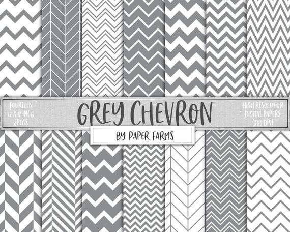 Grey chevron