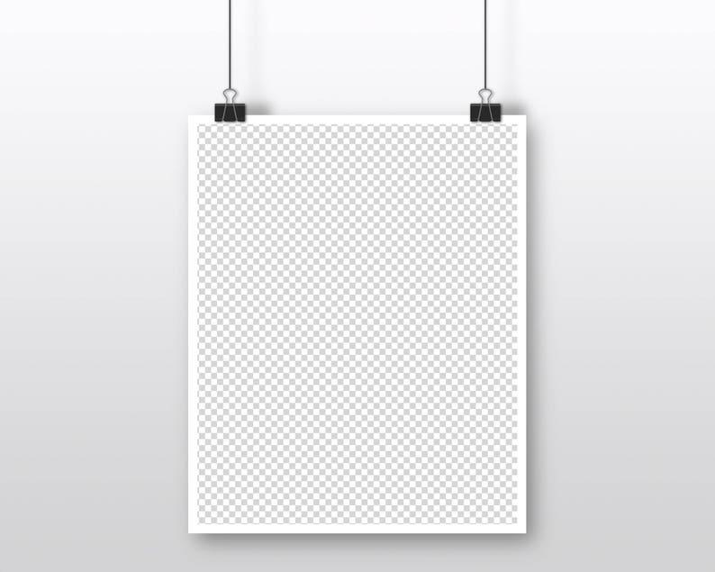 4 x 5 16 x 20 artwork mockup 8 x 10 inch poster mockup grey background hanging poster mockup gray DOWNLOAD paper clip poster mockup