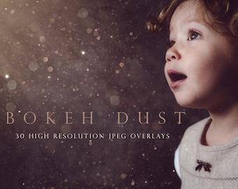 Bokeh dust overlay, glitter dust, floating dust, falling dust, bokeh, photoshop overlay, dust bokeh, dust overlay, overlays, gold, DOWNLOAD