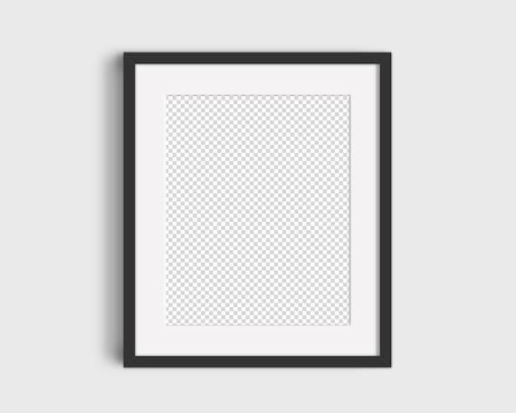 Simple Frame Mockup Simple Mockup Minimalist Mockup Black Etsy