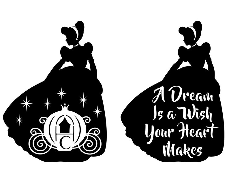 Cinderella Svg Princess Svg Disney Princess Castle Svg Etsy