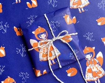 Foxy Tissue Paper