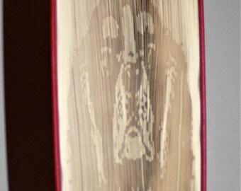 Cavalier King Charles Spaniel 2 Book Folding Pattern
