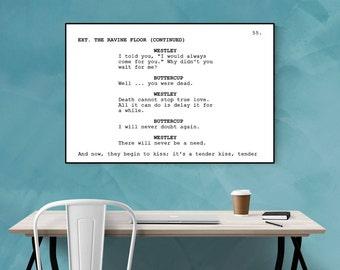 Princess Bride - Screenplay Movie Poster