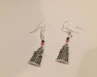 Sci-Fi inspired earrings, Robot earrings, Sci-Fi Jewellery, item 413 by CraftyLittleMonkeyGB