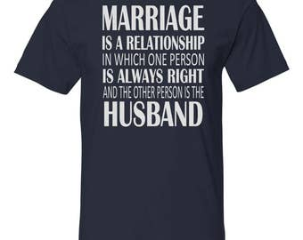 b387b951a Marriage Unisex Shirt - Funny Husband Shirt - Husband Gift