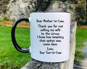 Mother in law mug | Etsy
