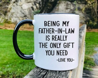 Father In Law Mug Etsy