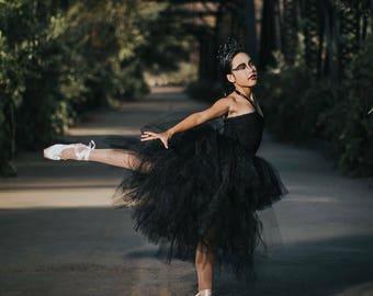 Black Swan WOMEN'S Hi/Low Tutu Costume