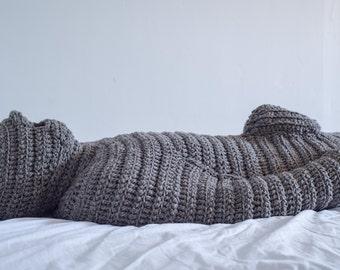 Bodybag / wool sleeping bag / Wollenschlafsack