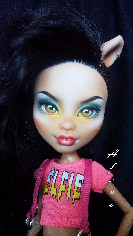 OOAK doll Monster High Howleen Wolf