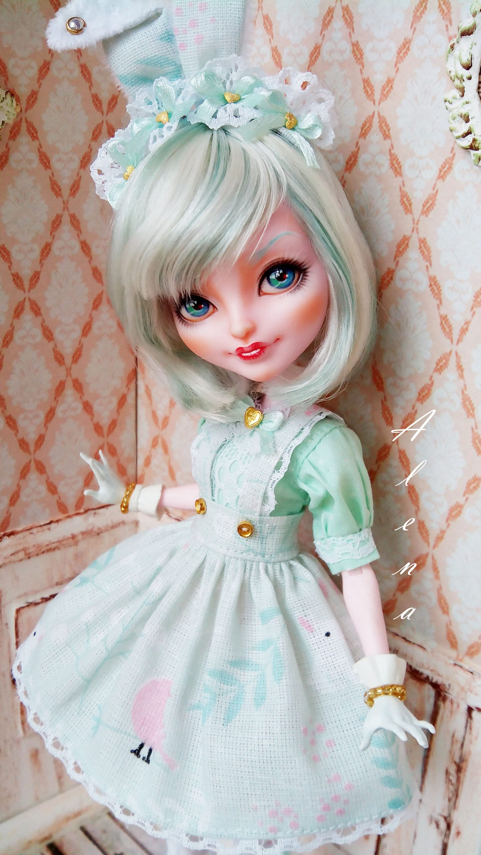 OOAK doll Ever After High Bunny Blanc