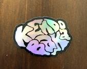 Kendo Baka Holographic Sticker