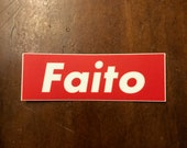 Faito parody sticker