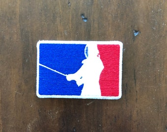 Embroidered Morale Patch: Major League Kendo