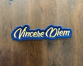 Sew on - Embroidered Morale Patch - Vincere diem