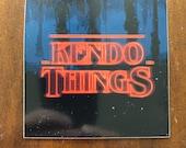 Kendo Things parody sticker