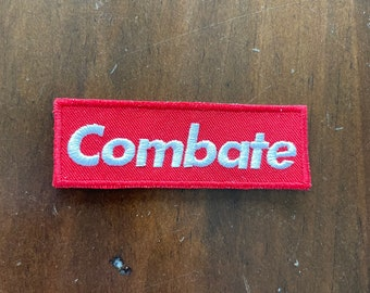 Embroidered Morale Patch for Martial Arts: Combate