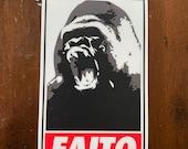 Kong Faito Vinyl Sticker/Decal