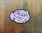 Kendo Baka Sticker (not holographic)