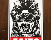 Godzilla Faito Vinyl Sticker/Decal