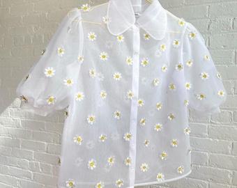 Daisy Tulle Shirt