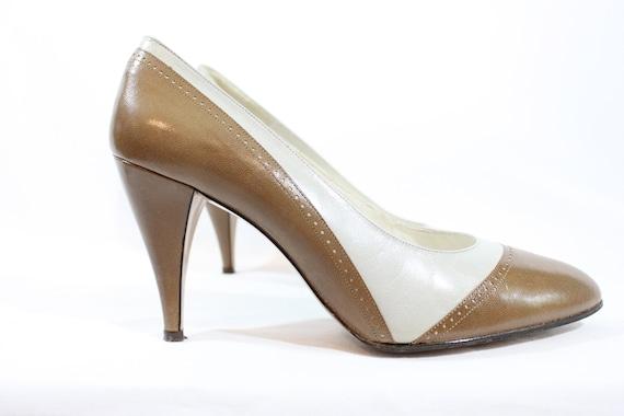 1980s pumps   Van Eli heels   vintage heels   1980
