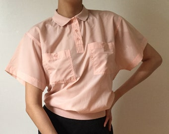 1980's DVF Collared Top