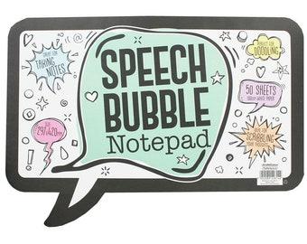 Speech Bubble Notepad