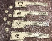 WH AOS 9 Inch Ruler/Objective Marker Set