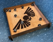 Imperial Guard Themed Large Dice Tray