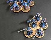 Wargaming 5 Man Squad Movement Tray Set