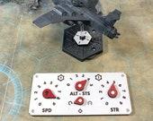 WH AI Air War Instrument Panels