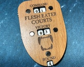 Flesh Eater Courts Themed Triple Dial/Counter