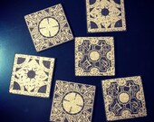 Hellraiser Puzzle Box Cork Coaster Set