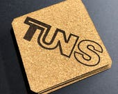 TUNS Cork Coaster Set...