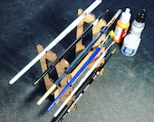 Hobby Paint Brush Rack Se...
