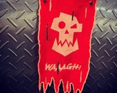 Ork Waaagh Themed Cloth War Banner